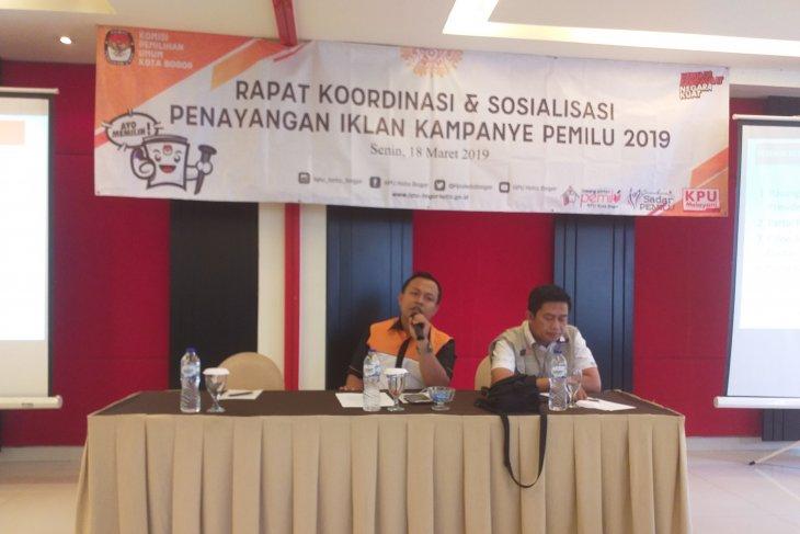 KPUD Kota Bogor sosialisasikan kampanye melalui media