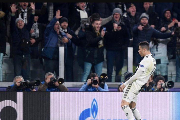 Cristiano Ronaldo didakwa UEFA karena lakukan selebrasi tidak senonoh