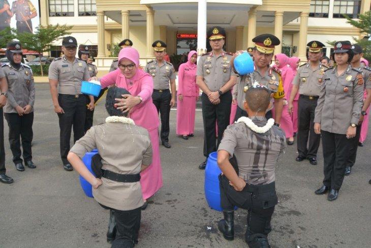 Polda Jambi gelar tradisi penerimaan Bintara remaja