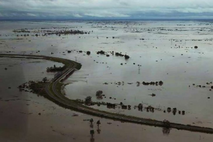 Korban topan di  Mozambik mencapai 446 jiwa