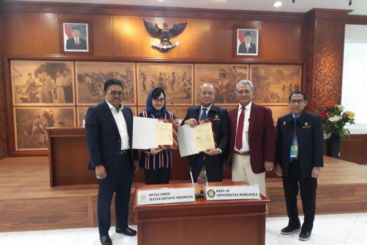 Universitas Pancasila tingkatkan kualitas notaris