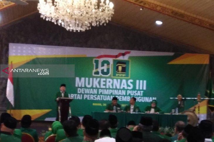 Suharso dikukuhkan sebagai plt ketua umum PPP di Mukernas III