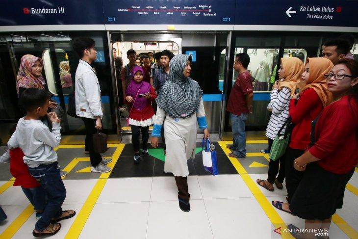 Presiden Jokowi resmikan MRT hari ini