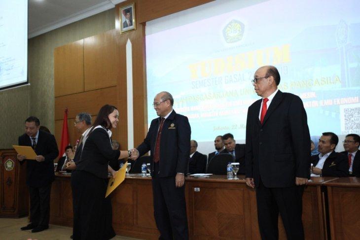 Yudisium Sekolah Pascasarjana Universitas Pancasila