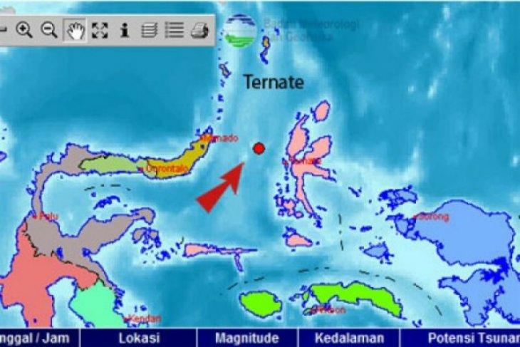 Belum ada laporan kerusakan akibat gempa 6,3 SR di Maluku Utara
