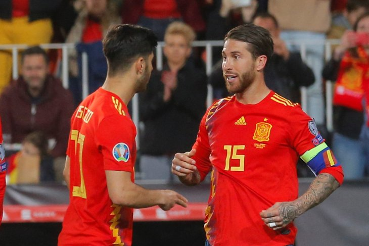 Ramos paling sering bela timnas Spanyol