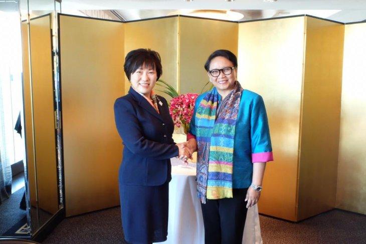 Marsudi highlights developments of Rakhine State at women's forum