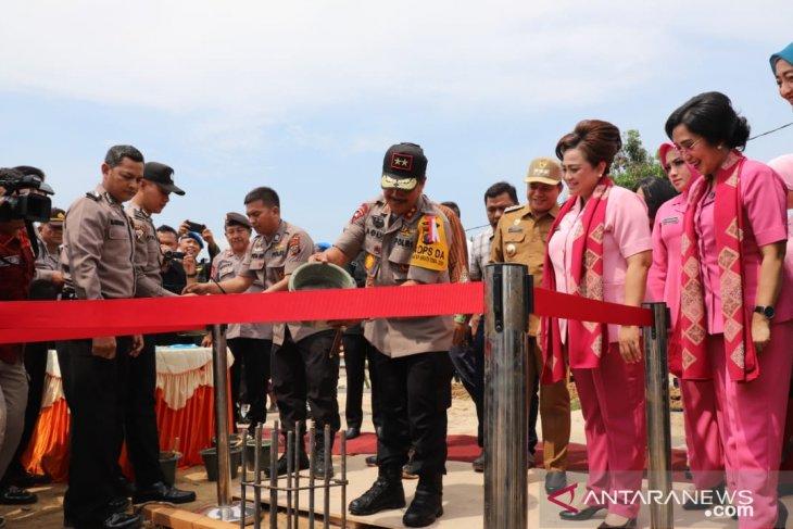Kapolda Sumut resmikan pembangunan Polres Batubara