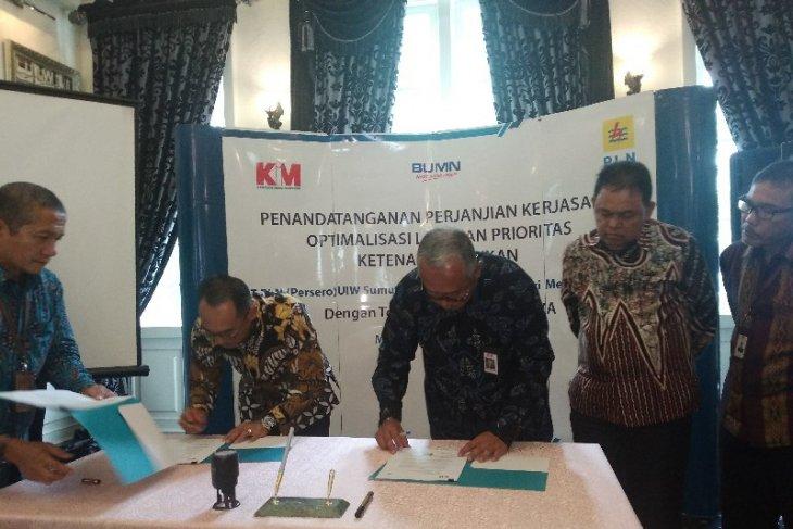 PLN Sumut dan PT KIM kerja sama layanan prioritas ketenagalistrikan