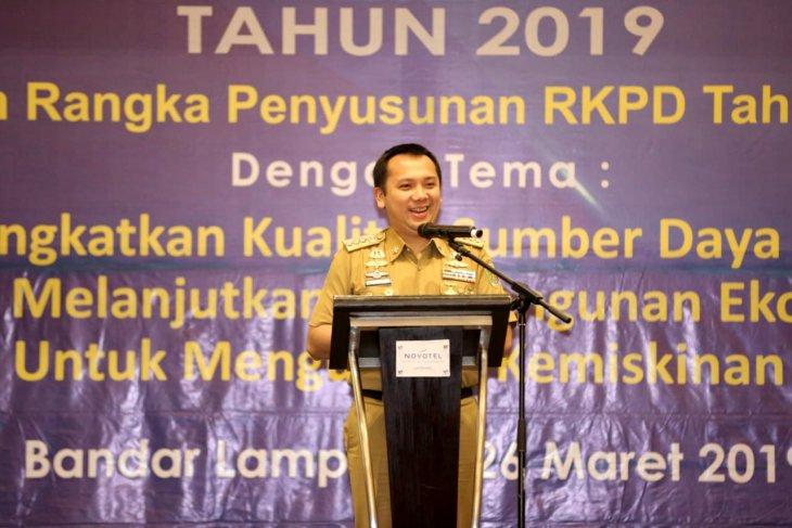 Ridho Ficardo Buka Musrenbang Provinsi Lampung 2019