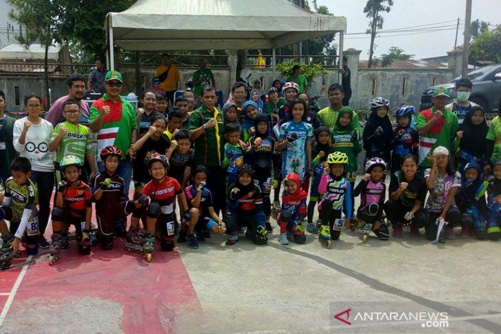 64 atlet sepatu roda bersaing di Porwil Medan
