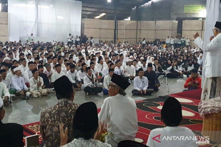 Ma'ruf Amin sepakat pada Gerakan Rabu Putih