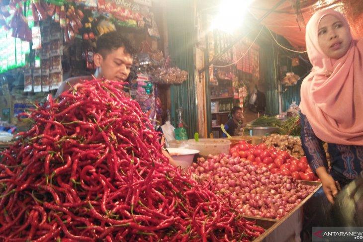 Harga cabai merah mulai naik di Lhokseumawe