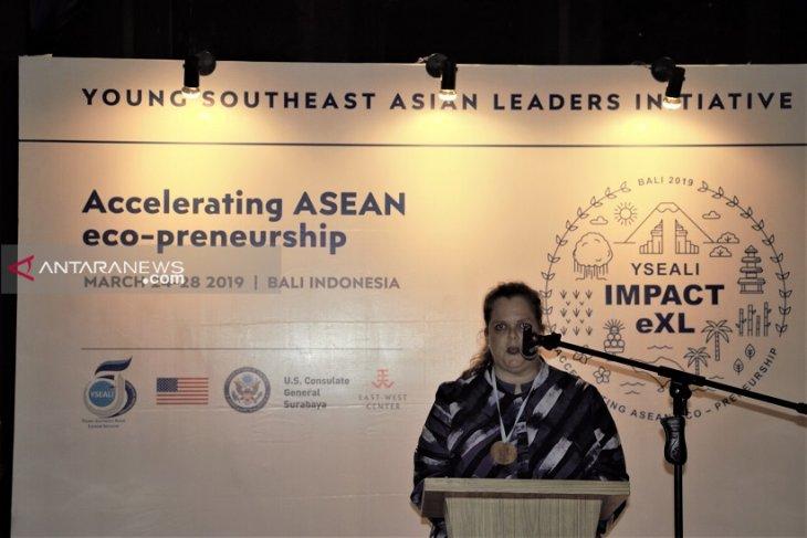 Wadubes AS: Bali jadi contoh bagi pemuda Asean untuk peduli lingkungan
