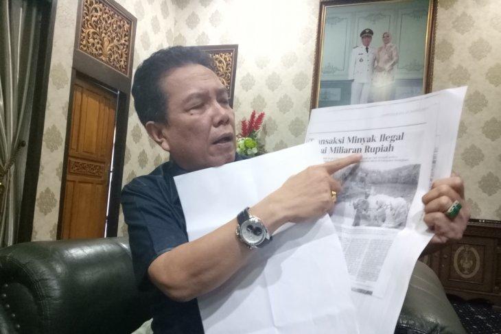 Bupati Batanghari laporkan kepala desa Pompa Air ke polisi