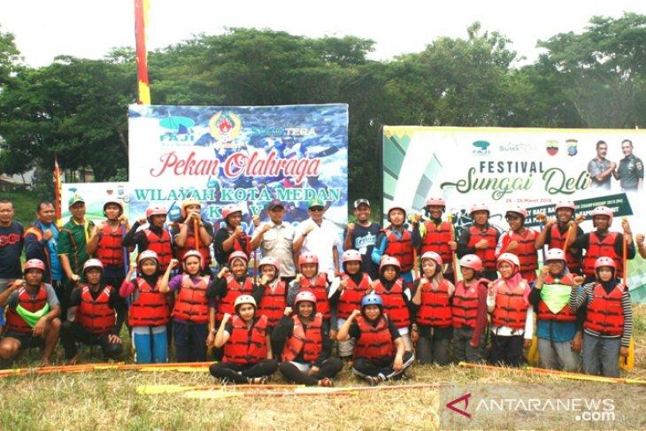 Medan Baru juara Arung Jeram Porwil Medan