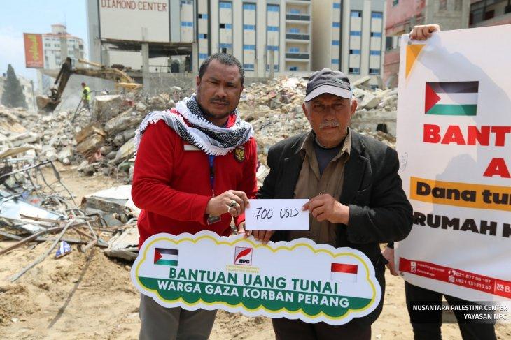 Rp10 Juta per-KK dari rakyat Indonesia untuk warga Gaza Palestina