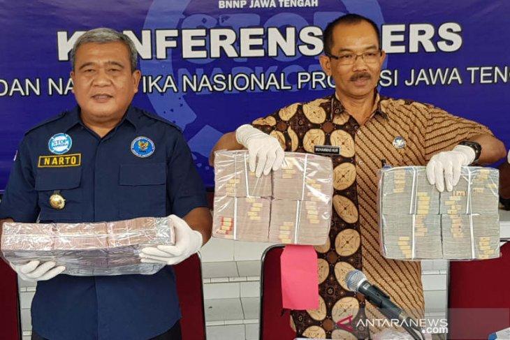 BNN Jateng  ungkap pencucian uang bisnis narkotika