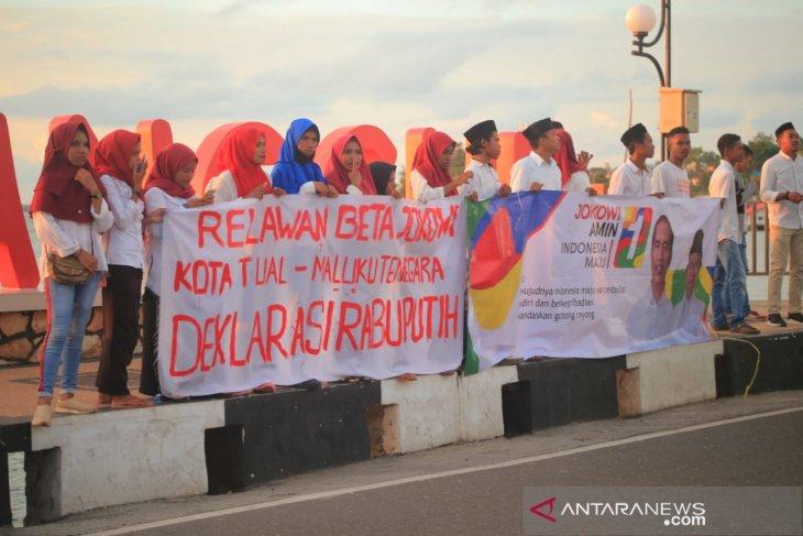 Relawan Beta Jokowi Tual - Malra deklarasi terbuka