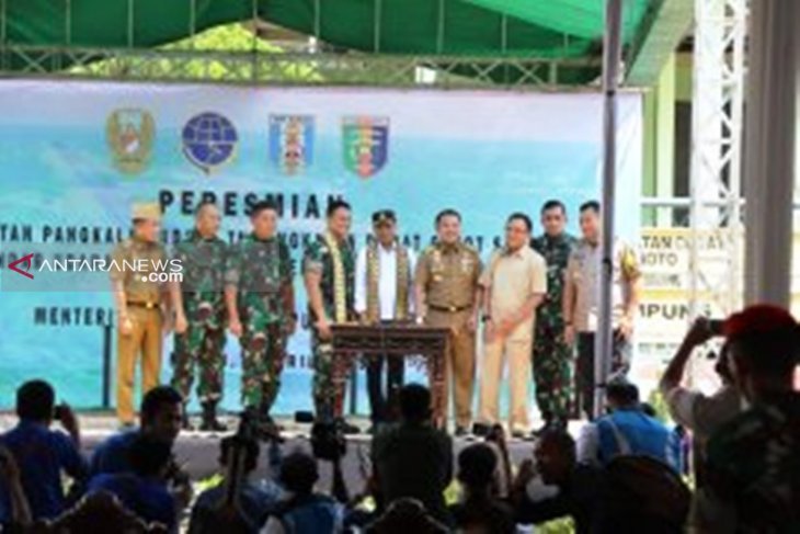 Transportation Minister inaugurates Gatot Subroto Airport in Lampung