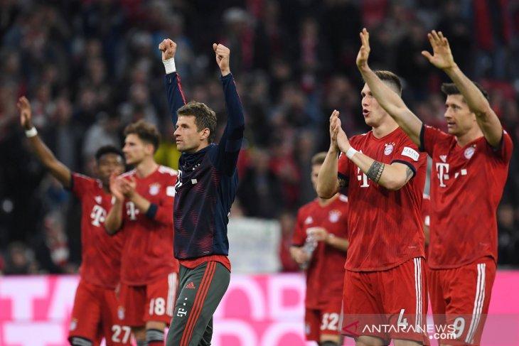 Munchen berhasil pangkas jarak dengan pemuncak klasemen Liga Jerman