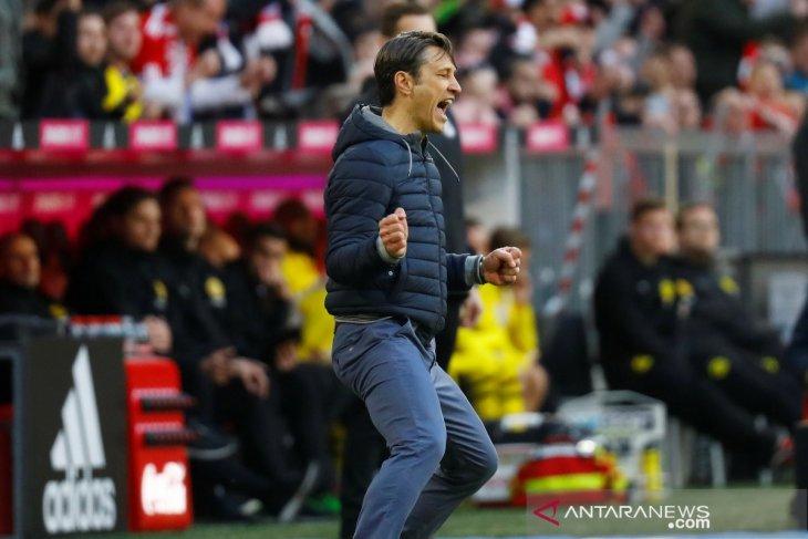 Bahagianya Niko Kovac ketika Muenchen gilas Dortmund 5-0