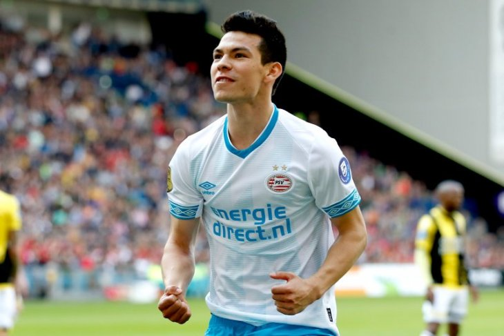 Penalti selamatkan PSV, imbangi Vitesse 3-3