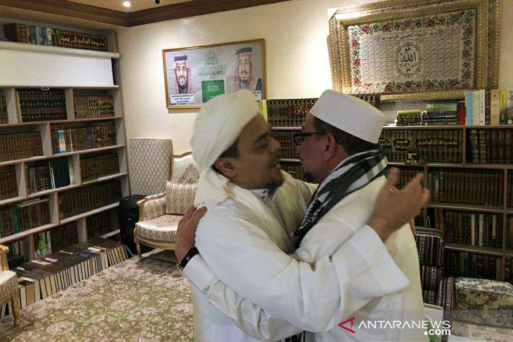 Salim Segaf temui Habib Rizieq di Mekkah