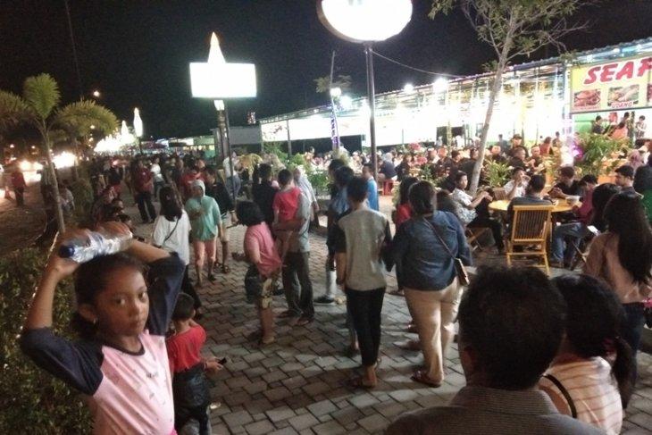 Warga kecewa Jokowi tak datang ke pusat wisata kuliner