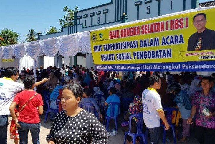 Yayasan BPJ beri pengobatan gratis bagi masyarakat Toboali