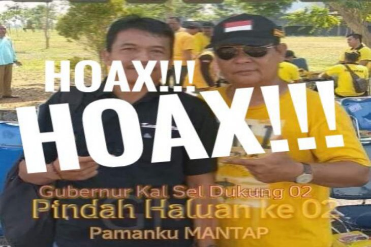Foto hoaksnya beredar, Paman Birin pastikan dukung Jokowi