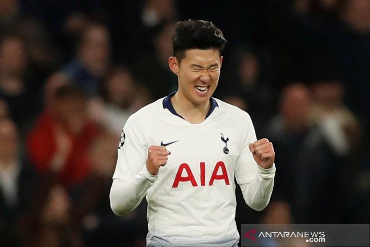Gol tunggal Son Heung-min antar Tottenham atasi Manchester City