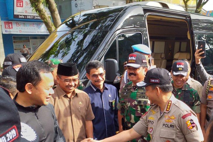 Kapolri dan Panglima TNI hadiri apel siaga Pemilu 2019