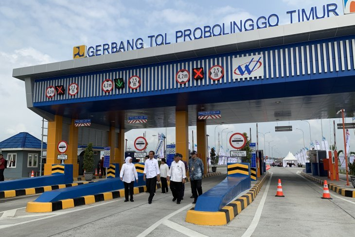 E Java's Pasuruan-Probolinggo toll road's inauguration ceremony held