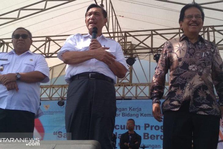 Luhut: Kabupaten Sukabumi mendapatkan perhatian penuh dari pemerintah