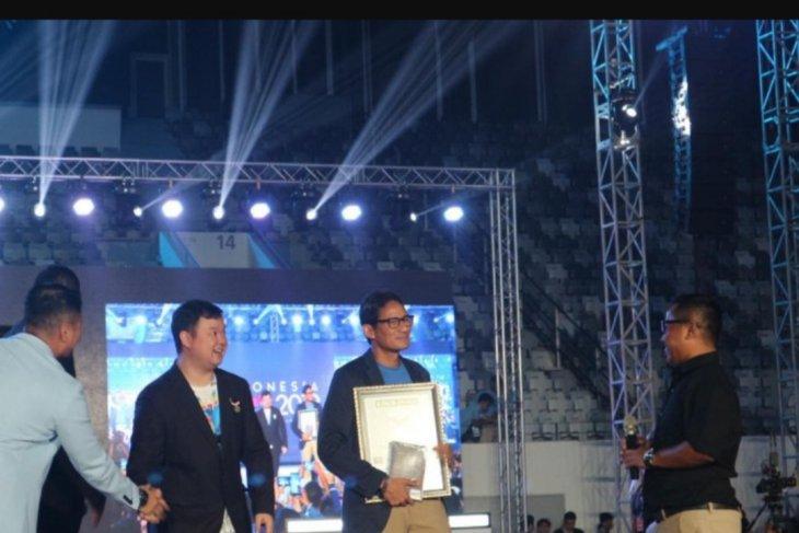 Dapat penghargaan MURI, Sandiaga pecahkan rekor dunia kunjungan kampanye terbanyak
