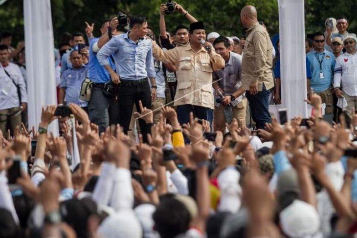 Kampanye Capres Prabowo Subianto