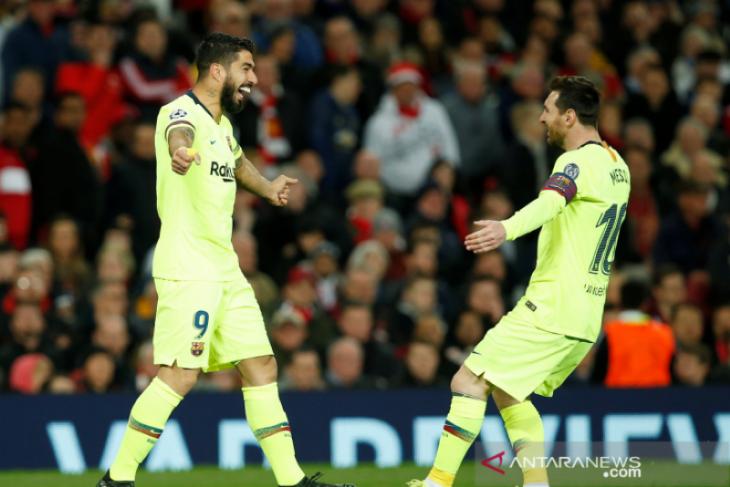 Barcelona kalahkan MU 1-0 berkat gol bunuh diri