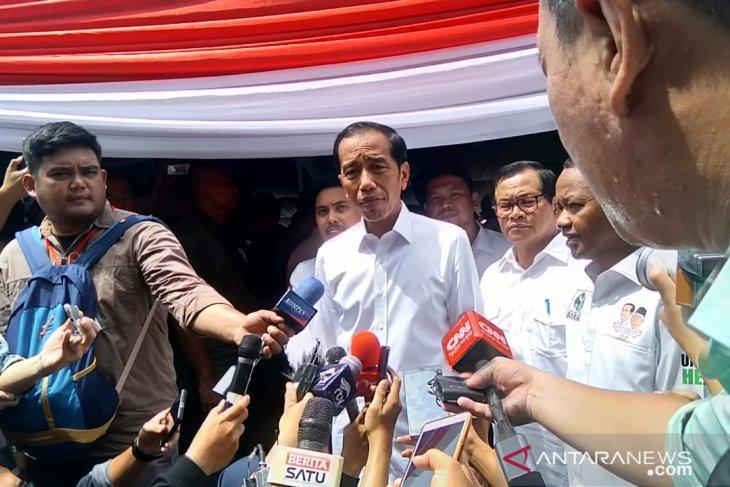 Jokowi serahkan sepenuhnya kasus Novel Baswedan ke tim gabungan