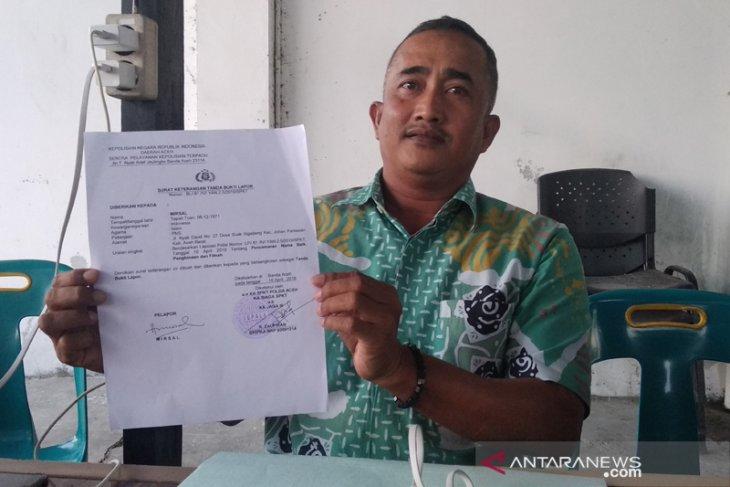 TAPK Aceh Barat lapor Ketua DPRK ke Polda Aceh