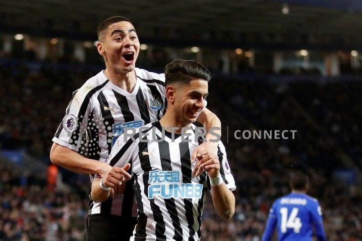 Newcastle tekuk Leicester 1-0 berkat sundulan Perez