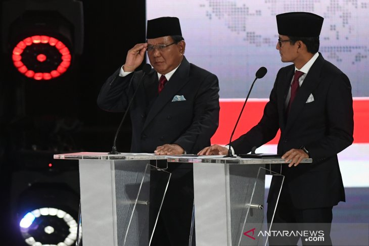 Prabowo-Sandi pair thanks and urges Indonesians to give them mandate
