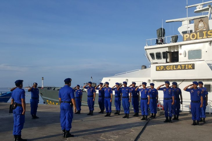 Kapal Polisi Gelatik dikerahkan angkut personel pengamanan pemilu