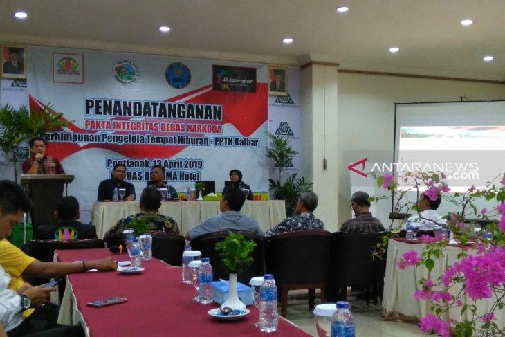 Perhimpunan pengelola tempat hiburan Kalbar komitmen cegah peredaran narkoba