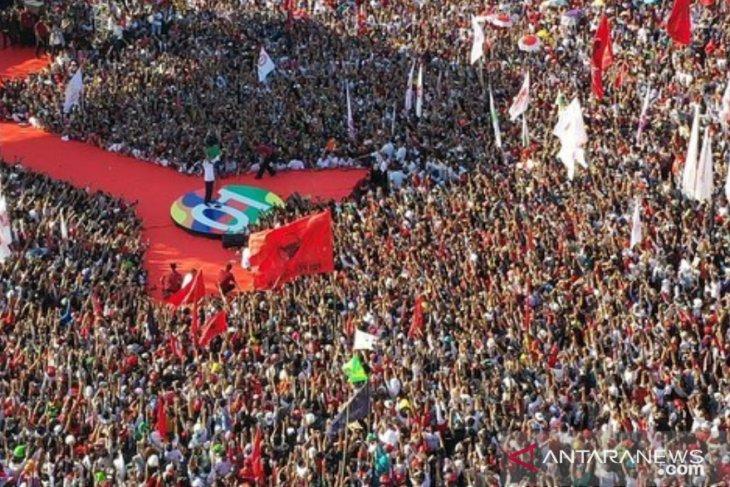 Konser Putih Bersatu jadi pamungkas Kampanye Akbar Jokowi-Ma'ruf Amin
