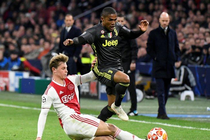 Di leg kedua, Ajax terancam tanpa De Jong lawan Juventus