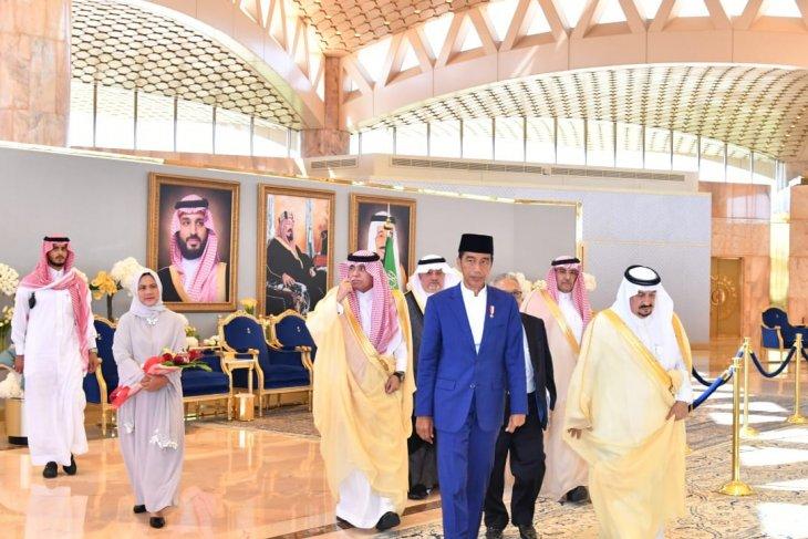 Presiden Joko Widodo dijadwalkan temui Raja Salman di Riyadh