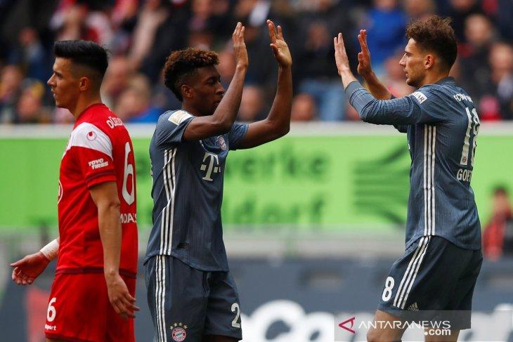 Hasil dan klasemen bola Liga Jerman, Muenchen kembali ke puncak
