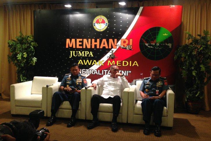 Menhan: Paskhas TNI AU siap sukseskan pemilu