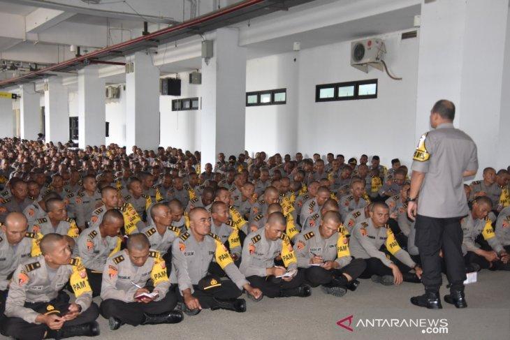 Dua orang polisi di Bogor awasi hingga 15 TPS